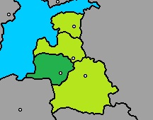 Lithuania Map GNW