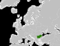 Карта Болгарии (ЮЭ)