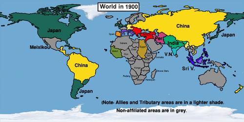 EasternizedWorld in 1900