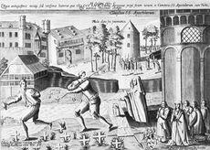 Köln - Richmodislegende Johann Bussemacher 1604 Stadtmuseum