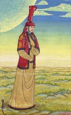 MongolKönigin