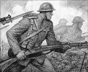 WWI trooper