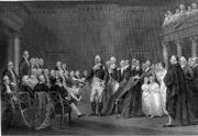 Washington Resigning His Commission 1783