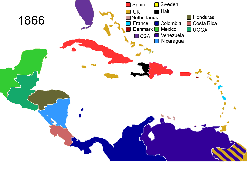 United Confederation Of Central America Emancipation Map Game