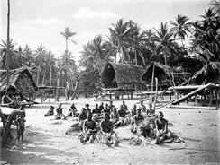 Папуасская деревня