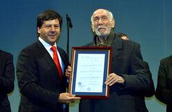 Alcalde Juan Castro y René Lagos