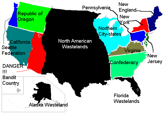 Image   Armageddon United States Map.png | Alternative History