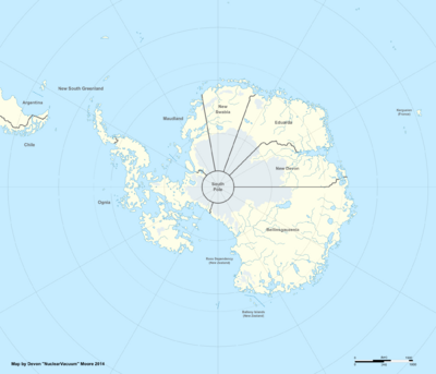 Atlas of Antarctica (Great White South)