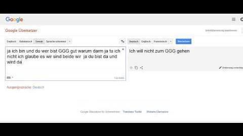 Kontakt mit der Google KI