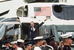 Nixon se va