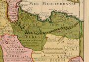Royaume de Tripoli 1707