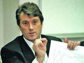 Ющенко на посту главы ЦБ