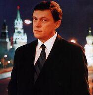 Явлинский на фоне Кремля