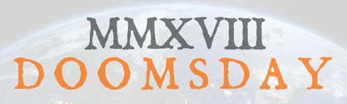 2018 doomsday banner
