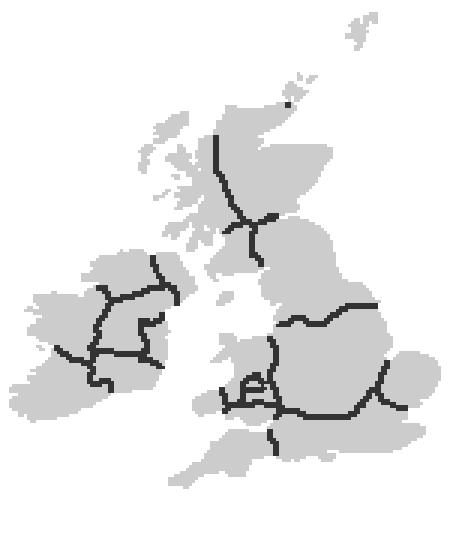 Map Of England 870.Britain Nordica Alternative History Fandom Powered By Wikia
