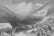 Chinese railroad workers sierra nevada