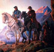Ejercito Libertador cruce de Cordillera de los andes