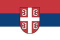 Flag Serbia (TNE)