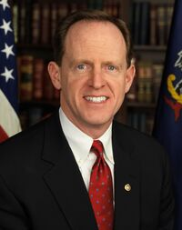 Pat Toomey, Official Portrait, 112th Congress