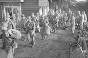 1st Units of Task Force Smith entering Taejon, 2-7-50