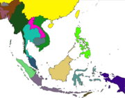 Asia Map (The SEA Way)