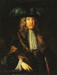 Martin van Meytens (attrib.) - Porträt Kaiser Karl VI