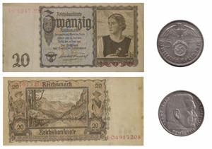 Reichmark Nazi Germany