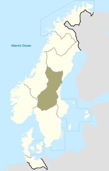 Svealand Map