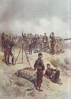 Французская артиллерия-0