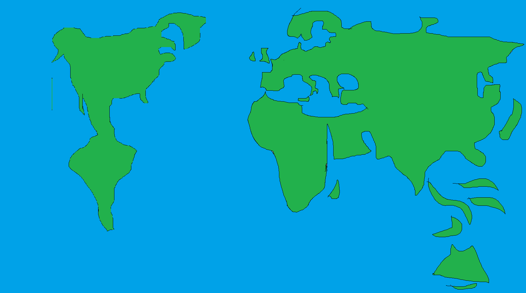Image map of earth hideously distortedg alternative history map of earth hideously distortedg gumiabroncs Image collections