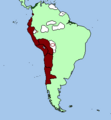Inca expansion, Andean city expansion, New Inca provincial division 3.png