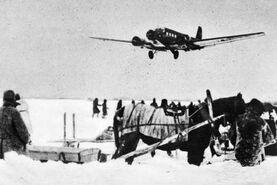 Ju 52 approaching Stalingrad late 1942