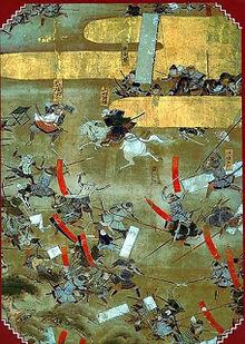 Какая-то японская битва