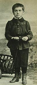 Ольдвиг Фидлер в детстве