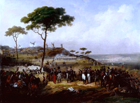Episode of the French intervention in Spain 1823
