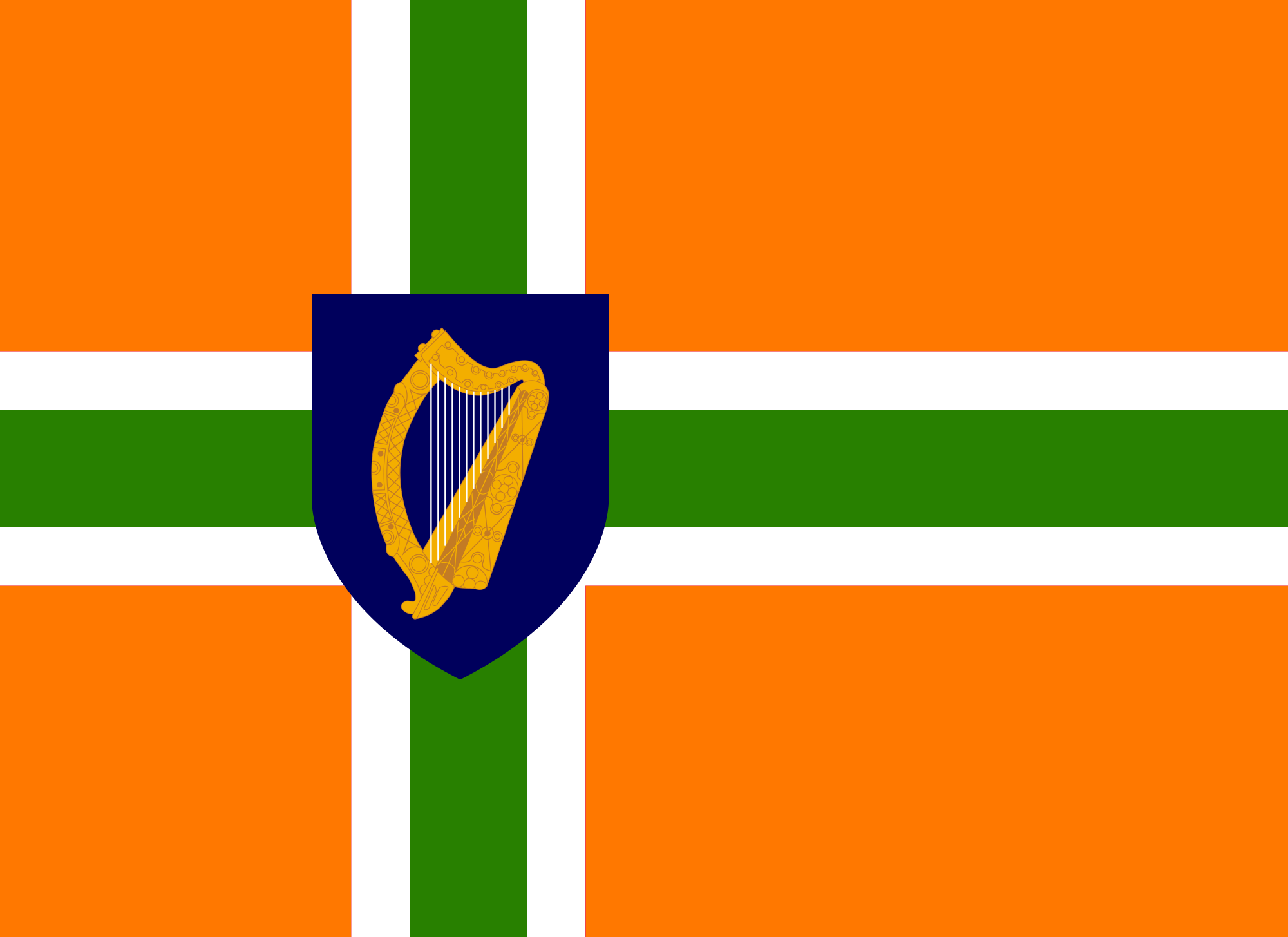 image irish nordic cross flagpng alternative history