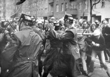 Straßenschlacht Berlin