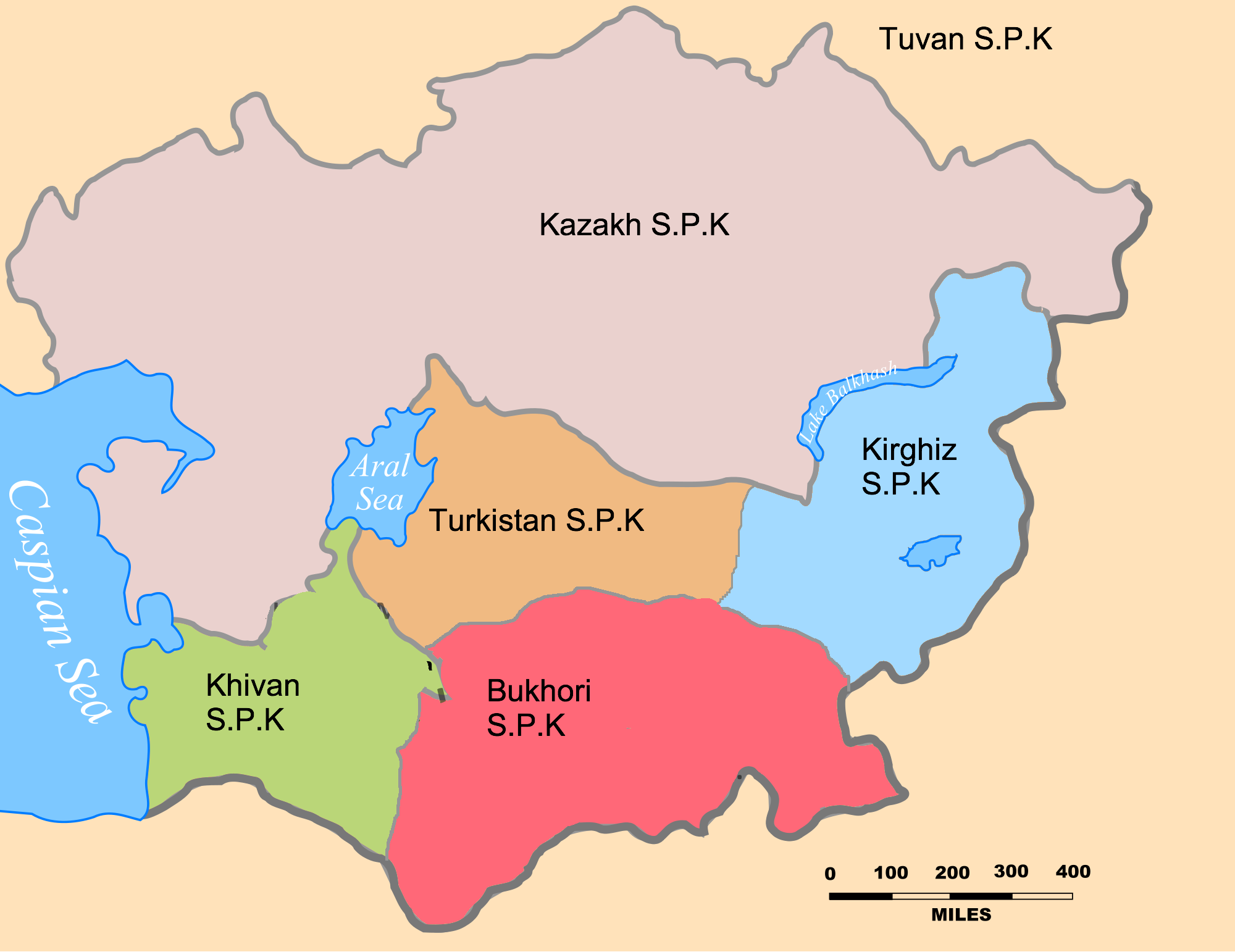 Central asian history