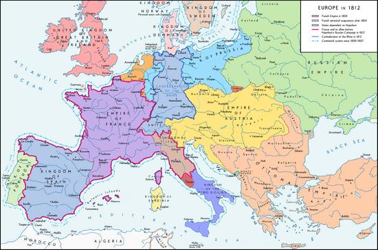 MapEuropeTimeline