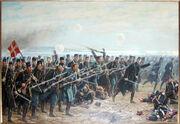 8 brigades angreb ved Dybbøl 1864