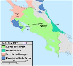 Costa rica 97 limon secession