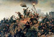 Die Erstürmung der Düppeler Schanzen 1864 500