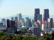 Polanco Skyline Mexico City DF