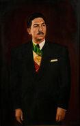 Portrait of Miguel Alemán Valdés
