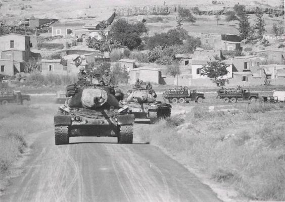 turkish m47 patton tanks1