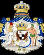 Герб америки королевской