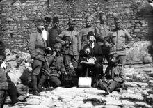 Сербские солдаты в войне