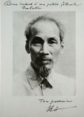 Ho Chi Minh 1946 and signature