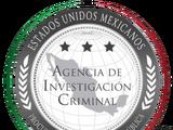 Agencia de Investigación Criminal de México (No Revolución)