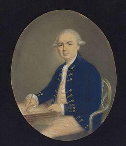 Portrait of Samuel Wallis